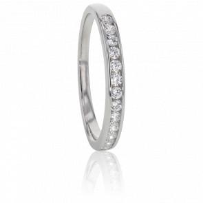 Alliance Anténor, Diamants 0,25 ct & Or Blanc 18K