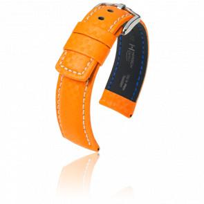 Bracelet Carbon Orange - Entrecorne 20 mm