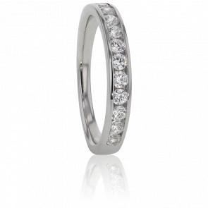 Alliance Anténor, Diamants 0,40 ct & Platine