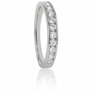Alliance Anténor, Diamants 0,50 ct & Platine