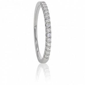 Alliance Audley Or Blanc et Diamants G/SI2 0,20ct