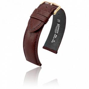 Bracelet Camelgrain Marron - Entrecorne 18 mm