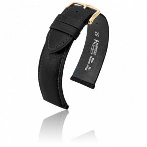 Bracelet Camelgrain Noir - Entrecorne 16 mm