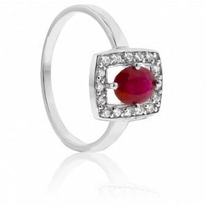 Bague Shaylee Rubis & Diamants