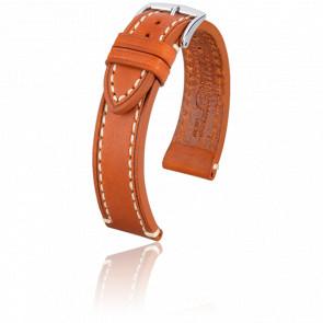 Bracelet Liberty Marron Doré - Entrecorne 20 mm