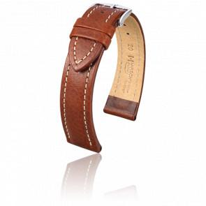 Bracelet Buffalo Marron Doré - Entrecorne 20 mm