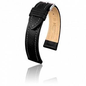 Bracelet Buffalo Noir - Entrecorne 22 mm