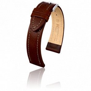 Bracelet Buffalo Marron - Entrecorne 18 mm