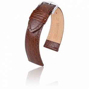 Bracelet Highland Marron / Silver - Entrecorne 20 mm