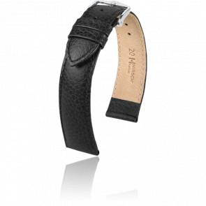 Bracelet Kansas Noir / Silver - Entrecorne 20 mm