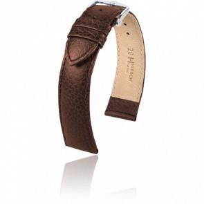 Bracelet Kansas Marron / Silver - Entrecorne 20 mm