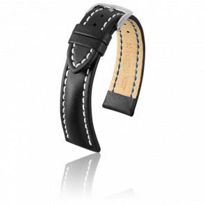 Bracelet Heavy Calf Noir - Entrecorne 22 mm
