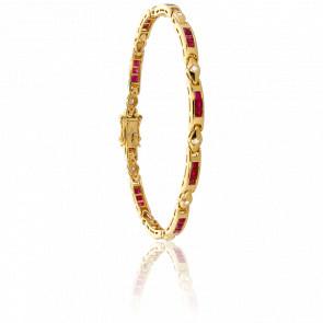 Bracelet Tonto, Rubis et Diamants