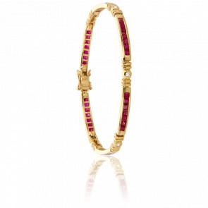 Bracelet Inyo Rubis & Diamants - Porchet