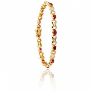 Bracelet Ozark Rubis & Diamants - Porchet