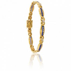 Bracelet Ouachita Saphirs & Diamants - Porchet