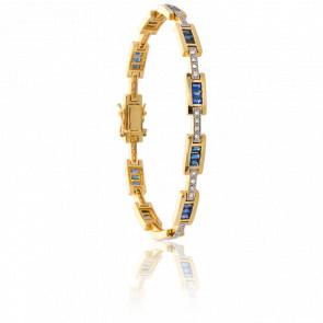 Bracelet Klamath Saphir & Diamants - Porchet