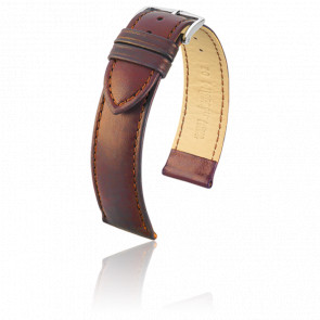 Bracelet Merino Marron Doré / Silver - Entrecorne 18 mm