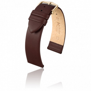 Bracelet Cashmere Marron / Gold - Entrecorne 18 mm