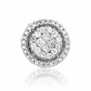 Pendentif Boule de Diamants