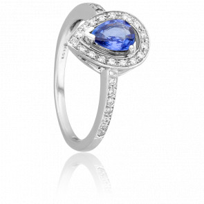 Bague Kuching Saphir & Diamants