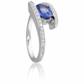 Bague Bharu Saphir & Diamants