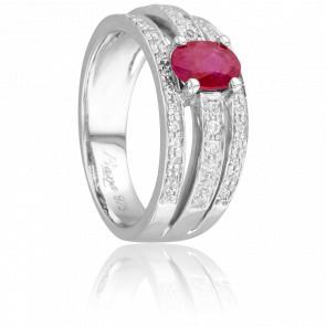 Bague Jaya Rubis & Diamants