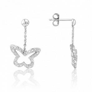 Boucles d'Oreilles Taman Diamants