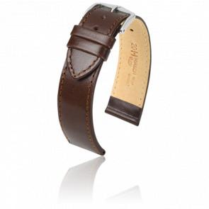 Bracelet Osiris Marron / Silver - Entrecorne 22 mm