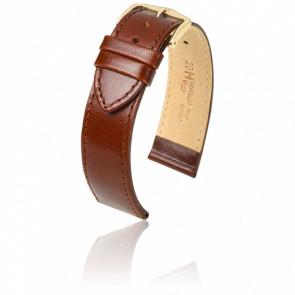 Bracelet Osiris Marron Clair / Gold - Entrecorne 20 mm