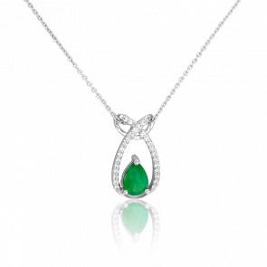 Collier Kampong Emeraude & Diamants