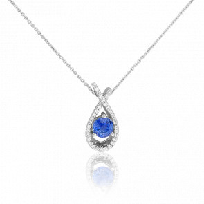 Collier Suong Saphir & Diamants