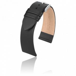 Bracelet Italocalf Noir / Silver - Entrecorne 18 mm