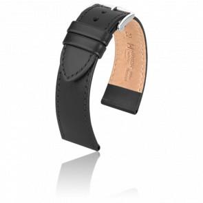 Bracelet Umbria Noir / Silver - Entrecorne 22 mm