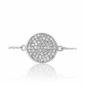 Bracelet-Chaine Circle of Diamants - Emanessence