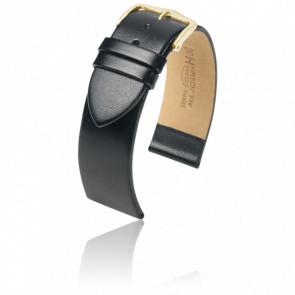Bracelet Wild Calf Noir / Gold - Entrecorne 17 mm