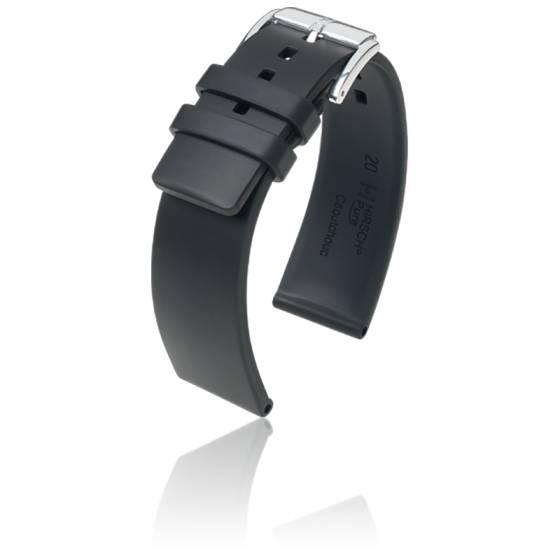 Bracelet Pure Noir / Silver - Entrecorne 20 mm