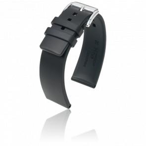 Bracelet Pure Noir / Silver - Entrecorne 24 mm
