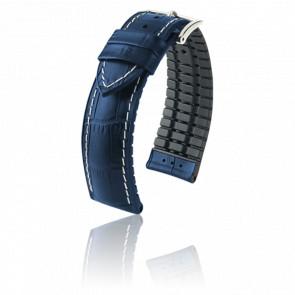 Bracelet George Bleu / Silver - Entrecorne 20 mm
