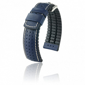 Bracelet Tiger Bleu / Silver - Entrecorne 18 mm