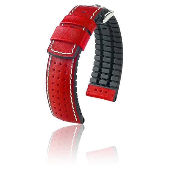 Bracelet Tiger Rouge / Silver - Entrecorne 22 mm