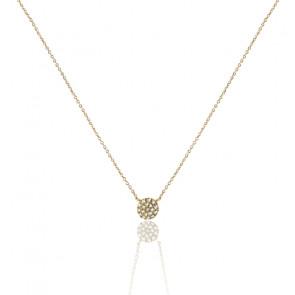 Collier Alvina Or Jaune & Diamants 0,055 ct