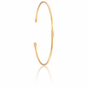 Bracelet Jonc Lovely Vermeil Or Jaune