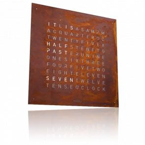 Qlocktwo Classic Creator's Edition Rust