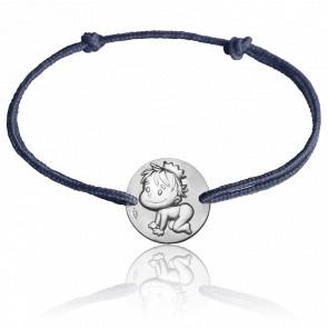Bracelet Médaille Blagueur Argent