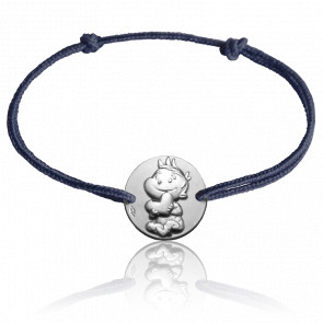 Bracelet Médaille Rêveur Argent