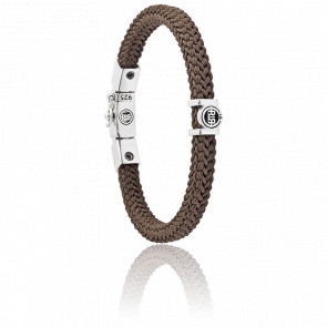 Bracelet Denise Cord - Brown