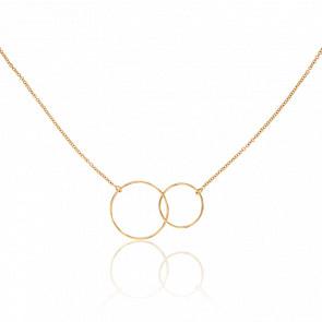 Collier Cercles Or Jaune - Scarlett or Scarlett
