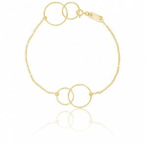 Bracelet Cercles Or Jaune - Scarlett or Scarlett
