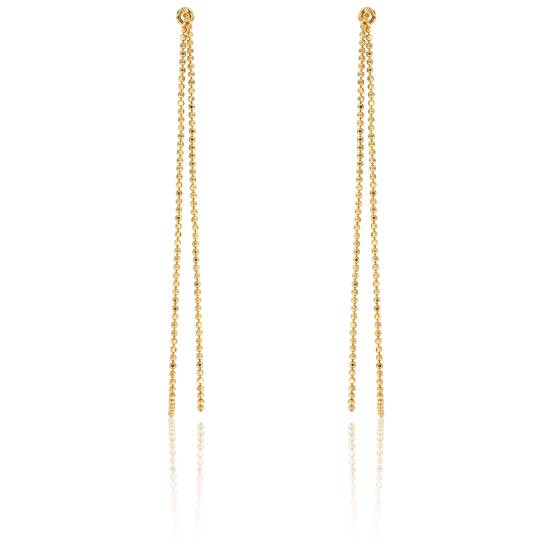 boucles d 39 oreilles chaines en or jaune 9 carats scarlett or scarlett ocarat. Black Bedroom Furniture Sets. Home Design Ideas